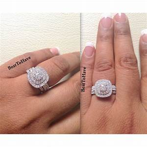 Wedding ring sets for ladies wedding rings ideas for Ladies diamond wedding ring sets