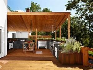 überdachung Terrasse Selber Bauen : au enk che selber bauen 22 gute ideen und wichtige tipps outdoor ~ Orissabook.com Haus und Dekorationen