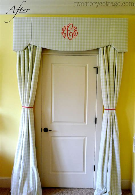 Monogrammed Cornice Board And A New Chandelier {lacey's Room}