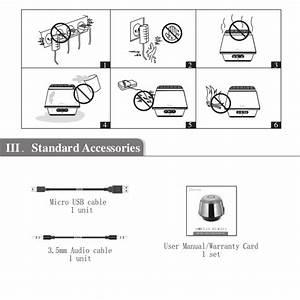 Gsou U180 Bluetooth Speaker User Manual