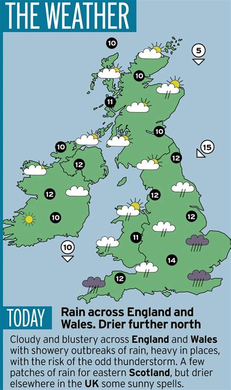 range weather forcast for uk uk weather britain set for five day heatwave after days of and relentless wind mirror