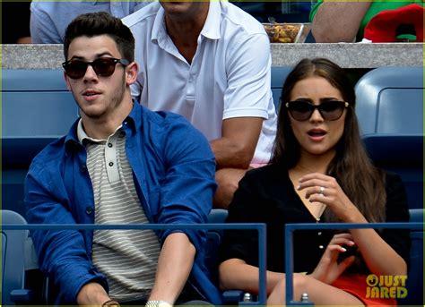 Nick Jonas Kisses Olivia Culpo At Us Open