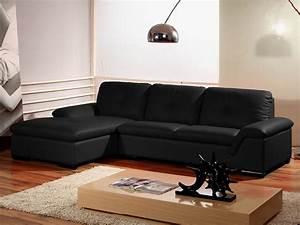 Canapé D Angle En Cuir : canap angle cuir denver ~ Teatrodelosmanantiales.com Idées de Décoration