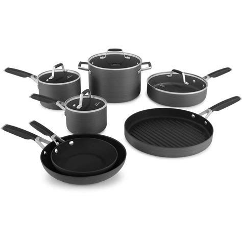 select  calphalon hard anodized nonstick cookware set