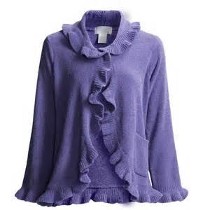 softies by paddi murphy ruffle bed jacket chenille for