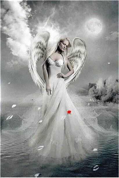Angel Angels Blond Fantasy Engel Artwork Dark