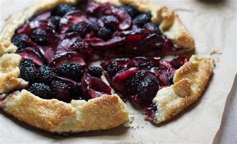 desserts using blackberries blackberry plum galette recipes noshon it