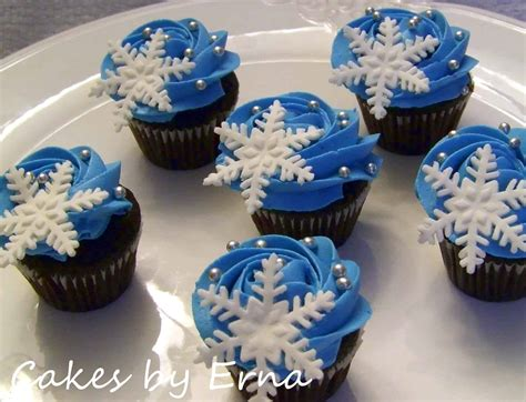 winter wonderland cupcakes cakesbyerna