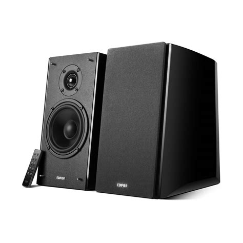 powered bookshelf speakers edifier studio series powered bluetooth bookshelf speakers