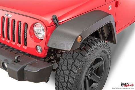 high top fender flares   jeep wrangler unlimited jk