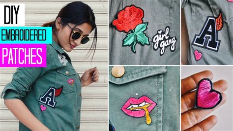 Diy Custom Embroidered Patches  3 Techniques Youtube