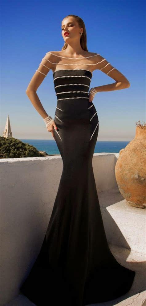 spectacular evening dresses    glamorous