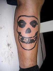 bold outline fiend skull | Tattoos, Misfits tattoo, Cool ...