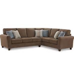 mirage iii 2 piece sectional art van furniture