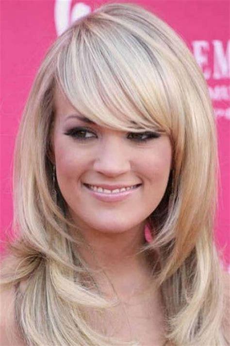 modern medium length haircuts  bangs layers