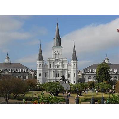 Jackson Square New OrleansNooks Towers and Turrets