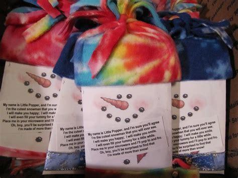 mrs samuelson s sw frogs popcorn snowman gift ideas
