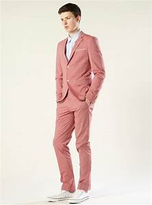 Picture Of Bright And Colorful Groom's Suits Ideas