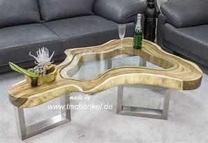 Couchtisch Glas Holz : couchtisch clash aus einem baumstamm mit glas der tischonkel der tischonkel ~ Eleganceandgraceweddings.com Haus und Dekorationen