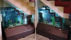 Fish Tank Stair Case
