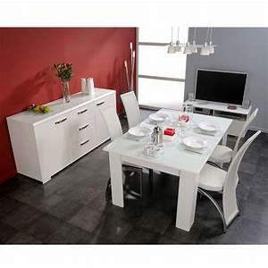 Chaise Table A Manger : ensemble table et chaise de salle a manger ~ Teatrodelosmanantiales.com Idées de Décoration