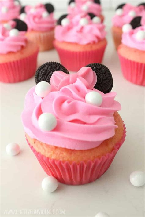 minnie mouse cupcakes pretty providence