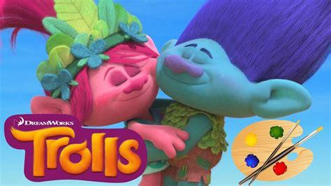 Trolls Movie Coloring Poppy And Branch Trolls Kids