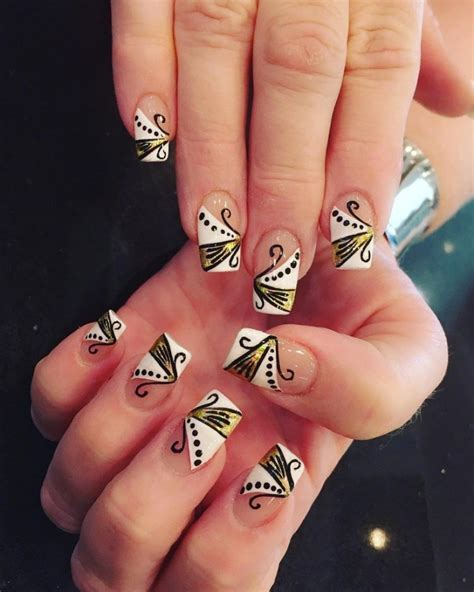 awesome nail extensions design    ecstasycoffee