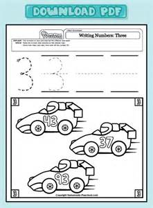 Activity Worksheets for 3 Year Olds