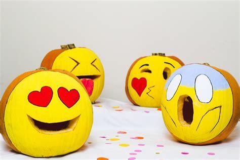 Kürbis Gesichter Malen by Lustige K 252 Rbis Vorlagen Emoji Gesichter