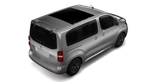 Peugeot Traveller L1 2017 3d Model Buy Peugeot Traveller