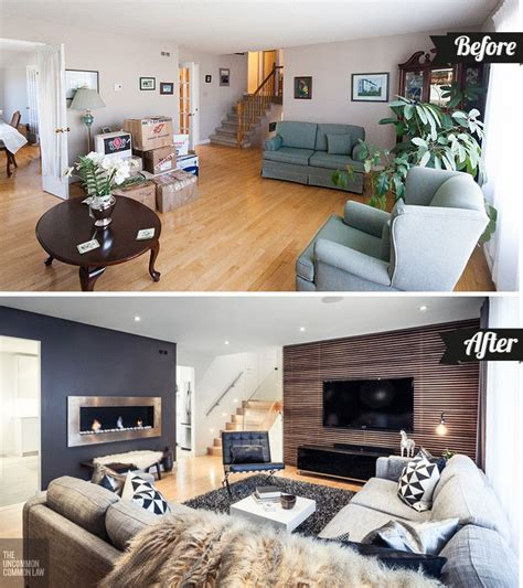 home design before and after how to boost your home 39 s décor with a living room makeover