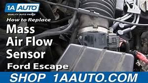 How To Replace Air Flow Meter Sensor 01