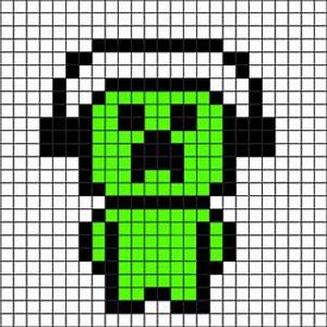 Minecraft 2D Pixel Art ideas   Minecraft Pixel Art ...