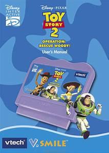 Vtech V Smile  Toy Story 2 Operation  Rescue Woody