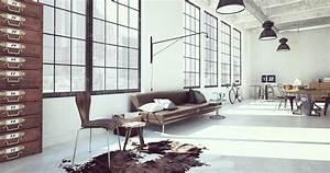Style Industriel Salon : conseils d co pour un int rieur au style industriel madame figaro ~ Teatrodelosmanantiales.com Idées de Décoration