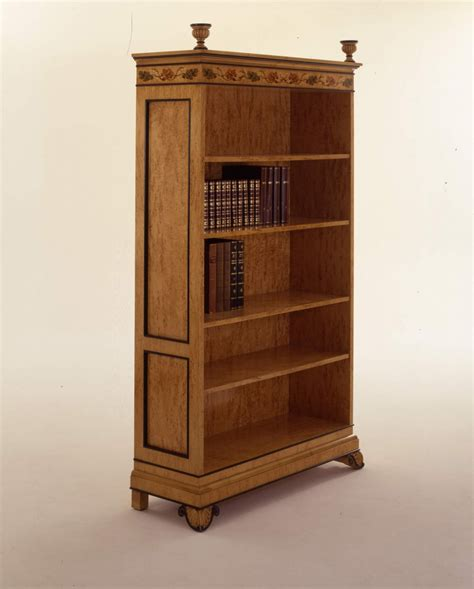 Bookcase Natural Wood Wien, Colombo Stile Luxury