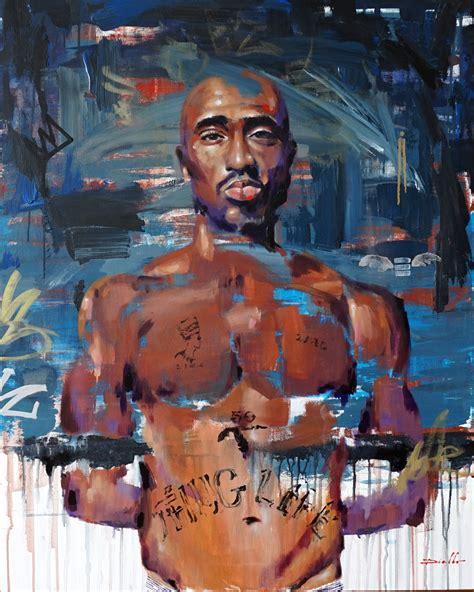 Tupac Amaru Shakur 100x80 Cm