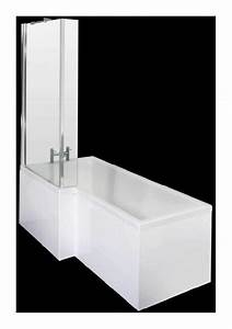 Baignoire D Angle Asymétrique : baignoire asym trique d 39 angle gauche 170x85cm hudson ~ Premium-room.com Idées de Décoration