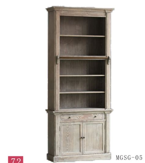 unfinished wood cube bookcase french solid oak wood antique style vintage steel and