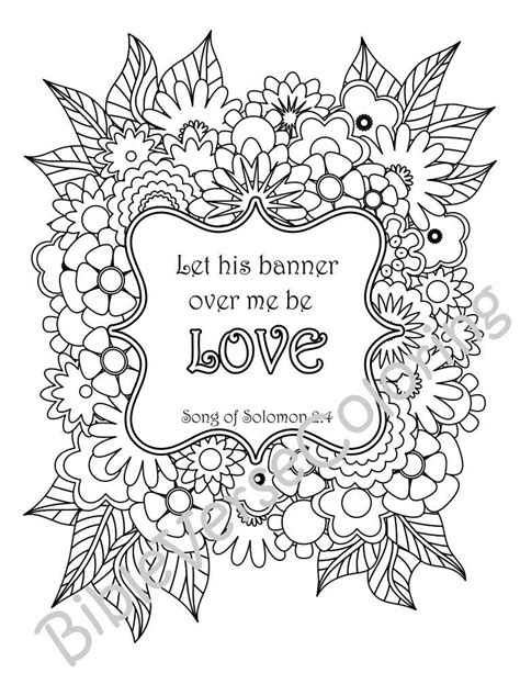 bible verse coloring pages inspirational quotes diy adult