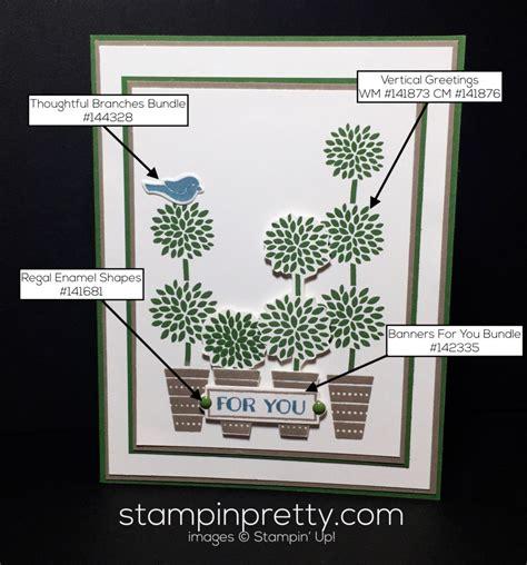 simple    vertical  stampin pretty