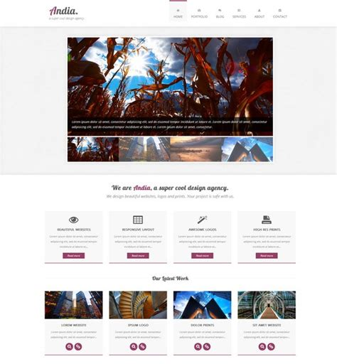 Adminlte Template Alternative by 40 Fresh Free Responsive Website Templates Ginva