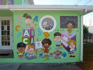 Miami Daycare Painting by Murals By Pontet