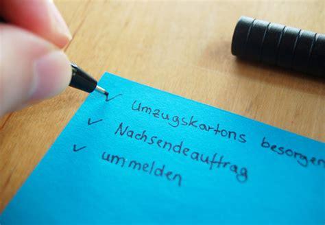 Tipps Für Umzug by Umzug Leicht Und Stressfrei Die Checkliste Obi