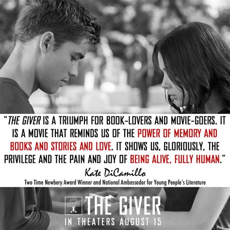 Kate Dicamillo Says The Giver Movie Is A Triumph For Book
