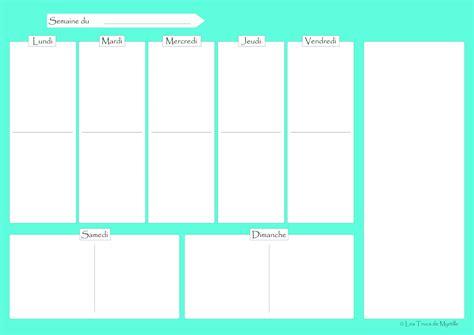 planificateur cuisine gratuit la cuisine de myrtille planifier ses menus plannings
