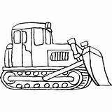 Bulldozer Coloring Pages Dozer Standing Construction Printable Drawing Equipment Cat Print Sheets Heavy Freeprintablecoloringpages Colouring Simple Clipart D8 Clipartpanda Getcolorings sketch template