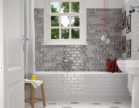 avec les imitations carreaux ciment metro en 7 5x15 faites vous un patchwork pour une