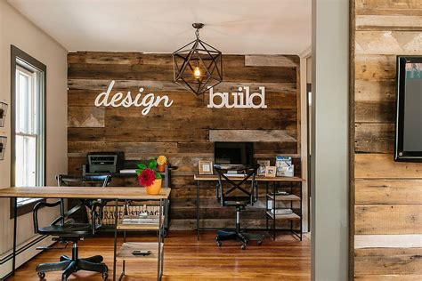wooden office design 25 ingenious ways to bring reclaimed wood into your home office